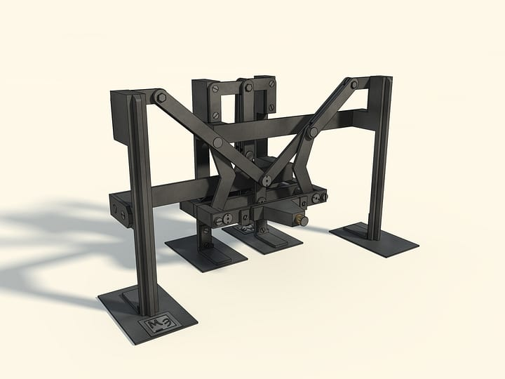 Plantigrade machine (in metal)